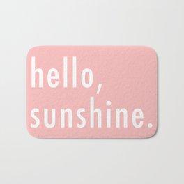 Hello Sunshine Bath Mat