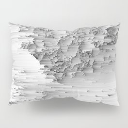 Japanese Glitch Art No.1 Pillow Sham