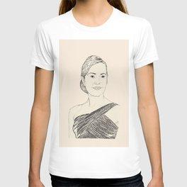 Kate Winslet Portrait T-shirt