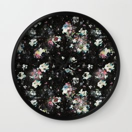 A Momentary Quietus in Space Wall Clock