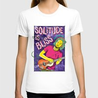 tame impala T-shirts featuring Solitude is Bliss - Tame Impala by JT.Camargo