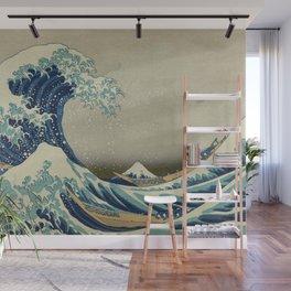 Ukiyo-e, Under the Wave off Kanagawa, Katsushika Hokusai Wall Mural