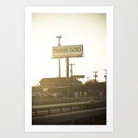 texas Art Prints featuring Texas by Ergin