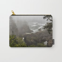 Fog Over Natural Bridges Carry-All Pouch