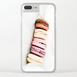 Macarons in Paris Clear iPhone Case
