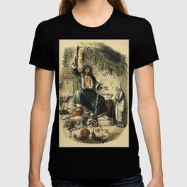 Scrooges third visitor-John Leech T-shirt