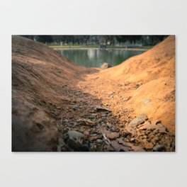Down Hill Canvas Print