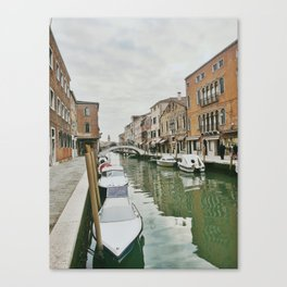 Canals of Venice IV Canvas Print