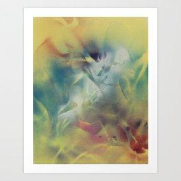 Blue Cliff Record Case #72 Art Print