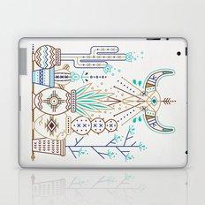Santa Fe Garden – Turquoise & Brown Laptop & iPad Skin
