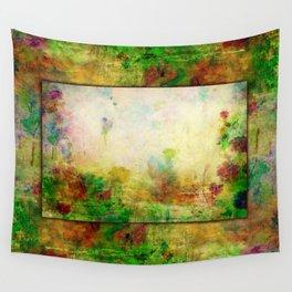 Ginkelmier Land ~ Watercolor Fairy Garden Wall Tapestry