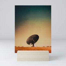 Radio Telescope Mini Art Print