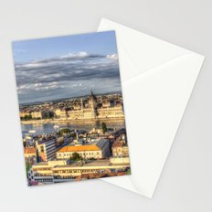 Budapest City View Stationery Cards