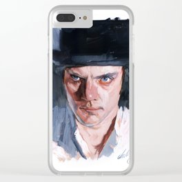 Malcolm McDowell Clear iPhone Case