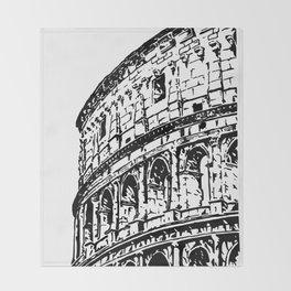 Colosseum, Rome Throw Blanket
