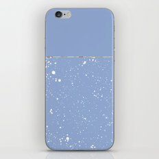 XVI - Blue 1 iPhone & iPod Skin