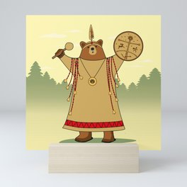 Bear Shaman Mini Art Print