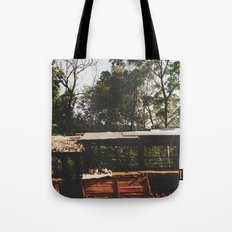 Tribal Villager's Stall Tote Bag