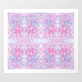 junkspace hexagonal Art Print