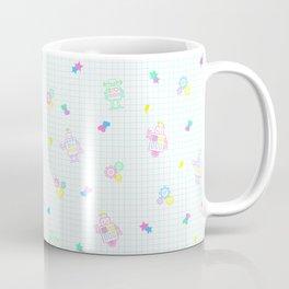 Disco Bots White Coffee Mug