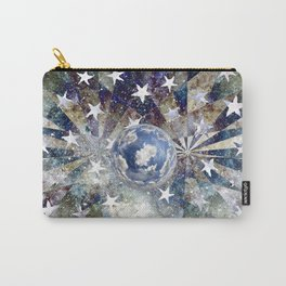 Space Odyssey - Big Blue Marble Carry-All Pouch