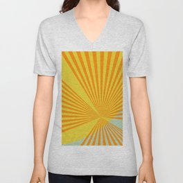 Summer Sun Unisex V-Neck