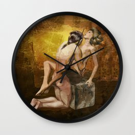 Liebespaar Wall Clock