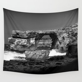 Azure Window Wall Tapestry