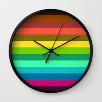lab Wall Clocks featuring Colors LAB  by Msimioni