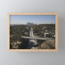 Los Angeles 110 Framed Mini Art Print