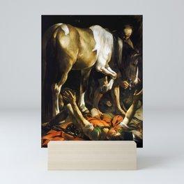Caravaggio Conversion on the Way to Damascus Mini Art Print