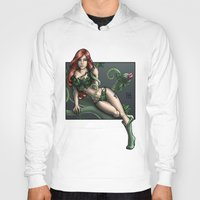 poison ivy Hoodies featuring Poison Ivy by Tash O'Toole
