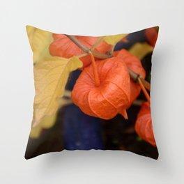 Autumn little jewels Throw Pillow