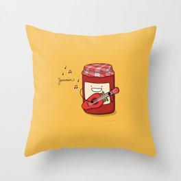 Jammin Throw Pillow