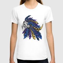 American Native Chieftain Head T-shirt