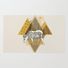 Mountain Goat Rug