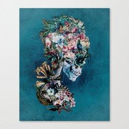 Floral Skull RP Canvas Print