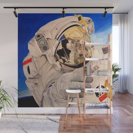 Astronaut in space, man. Wall Mural