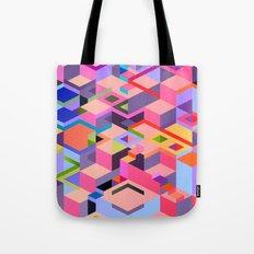 Isometric Chaos Tote Bag