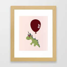 Let your spirit 'saur Framed Art Print