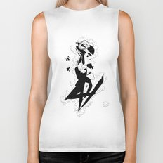 When you finally get them all - Emilie Record Biker Tank
