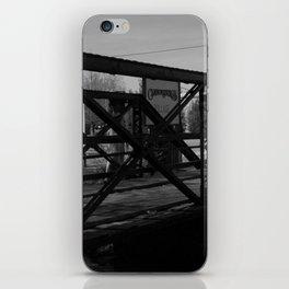 Deserted Bridge iPhone Skin