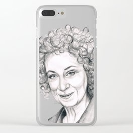 Margaret Atwood Clear iPhone Case