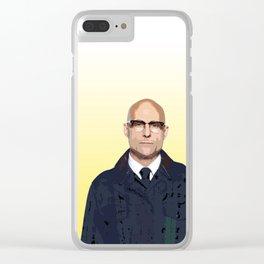 Merlin (Kingsman) Clear iPhone Case
