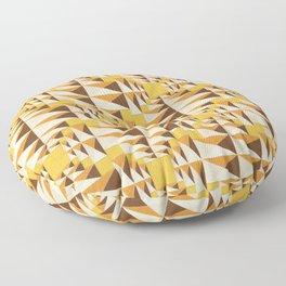 Gnomon - semolina Floor Pillow