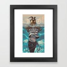 Jonah- Island Framed Art Print
