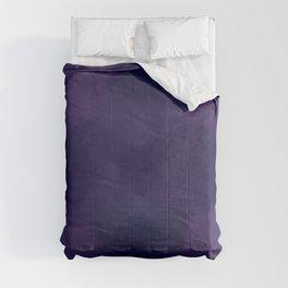 Deep Violet Tie Dye Comforters