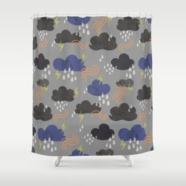 summer weather Shower Curtain