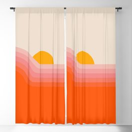 Strawberry Dipper Blackout Curtain