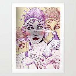 Wood Nymph Art Print